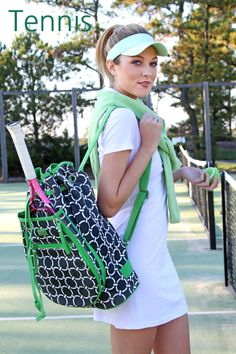 Tennis Backpack (shown in arcadia) Love this!  I want :). Guess I have to start playing again...
