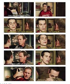 Words cannot describe how much I love the relationship between Papa Stilinski and Stiles.  Like I can't even...