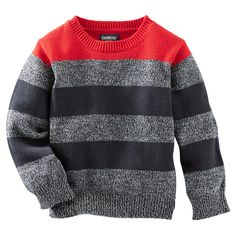 Baby Boy Ski Lodge Sweater from OshKosh B'gosh. Shop clothing & accessories from a trusted name in kids, toddlers, and baby clothes. Baby Boy Sweater, Toddler Sweater, Knit Baby Sweaters, Boys Sweaters, Knitting Patterns Boys, Knitting For Kids, Baby Knitting, Toddler Girl Outfits, Boy Outfits