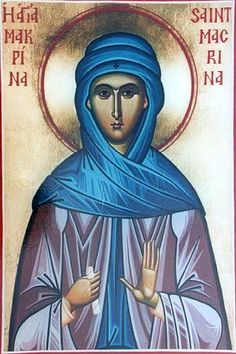Макрина - сестра Василия Великого. Макрина Каппадокийская, Новая, Младшая, прп.