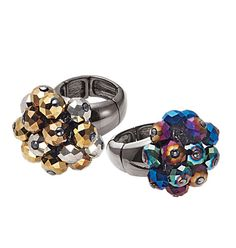 I absolutely luv these rings! have 1 in each color! :)  AVON - Product