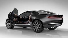 The All Electric Aston Martin DBX Concept GT 4 Wheel Drive