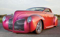 1938 Lincoln Zephyr Custom Coupe - The original green hornet car