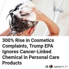 "#Repost @nathan11.11 (@get_repost) ・・・ A new Northwestern University study revealed that consumer complaints have more than doubled for #cosmetic products from 2015 to 2016, highlighting problems with the under-regulated multibillion-dollar #beautyindustry.  In fact, cosmetics companies and manufacturers are not legally required to share complaints about its products to the U.S. Food and Drug Administration (#FDA) meaning potentially harmful products are on our shelves today. ""You can create…"