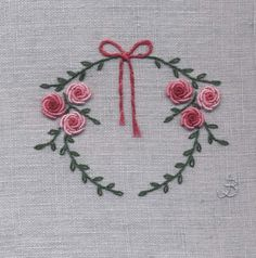 Jo Butcher, Embroidery Artist - Wreath