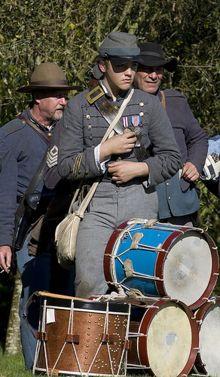 Become a Civil War Drummer (Reenacting)