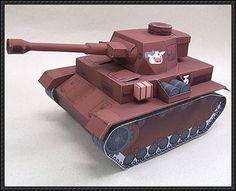 Girls und Panzer - A Tank Free Paper Model Download - http://www.papercraftsquare.com/girls-und-panzer-a-tank-free-paper-model-download.html