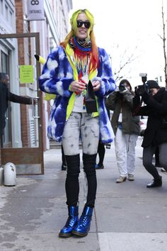 Los mejores looks de Street Style en la Semana de la Moda de Nueva York: Chloe Norgaard
