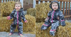 House of Cute-ture! Camouflage Hooded Onesie - FREE SHIPPING ON ALL ORDERS!!