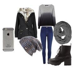 """Grey <3"" by amal-stylesmalik ❤ liked on Polyvore featuring River Island, 360 Sweater, Charlotte Russe and Spacecraft"