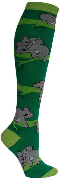 Koala Knee High Socks