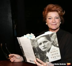 Kate Mulgrew at 'An Evening with Kate Mulgrew', a reading and Q & A about her memoir 'Born with Teeth' at the Vineyard Theatre on May 3, 2015 in New York City.