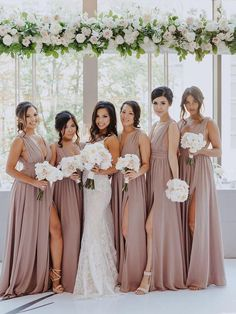 Bridesmaid Dresses Under 100, Mismatched Bridesmaid Dresses, Bridesmaid Dress Colors, Wedding Bridesmaids, Wedding Dresses, Dresses Dresses, Bridesmaid Gowns, Destination Bridesmaid Dresses, Bridesmaid Pictures