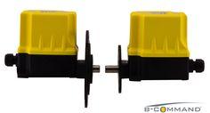 NEUHEIT – Flansch für Getriebeendschalter Serie FRS  Mit einem Außendurchmesser von lediglich 75mm bietet der neue Flansch mit 6 variablen Befestigungspunkten eine kompakte Möglichkeit zur Frontalbefestigung an u.a. Winden oder Motoren. Als optionales Zubehör kann er nachträglich an den Getriebeendschalter montiert werden.