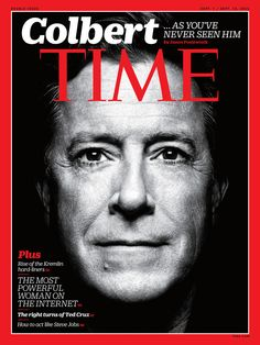 Stephen Colbert Has a Lot to Say on Twitter About His Time Magazine Cover  Stephen Colbert, TIME