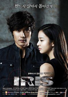 IRIS 1 - Korean actor Lee Byung-heon /  actress Kim Tae-hee