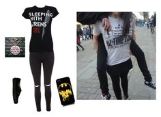 """Get off me fat-ass"" by baby3hemmings ❤ liked on Polyvore featuring Myla, Wet Seal, Glamorous and Vans"