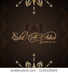 Abstract Eid-Al-Adha Mubarak religious background Invitation Card Design, Invitation Cards, Invitations, Eid Al Adha Greetings, Rainy Day Quotes, Eid Adha Mubarak, Ramadan Poster, Eid Cards, Royalty Free Photos