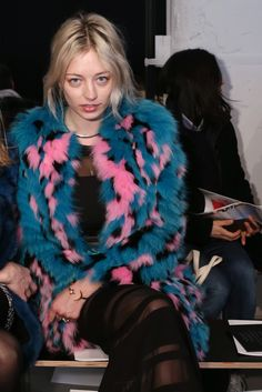 "CAROLINE VREELAND WHO: During New York Fashion Week, the musician also met with record labels to shop her debut album. AGE: 27 FAMILY MATTERS: Diana Vreeland was her great- grandmother. ""For me it's just exciting as a singer… for the designers to let me wear the clothes. All of it is great press for my music."" WHERE: Christian Dior, Marc Jacobs, J.Mendel, Diane von Furstenberg."