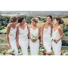 Short Bridesmaid Dresses White Dress Straps Fs7461 From Lovebridal
