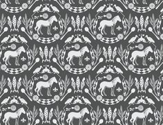Our signature pattern. Home Wallpaper, Fabric Wallpaper, Surface Pattern Design, Fabric Patterns, Fabrics, African, Victorian, Homes, Wallpapers