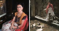 10  Rare Photos Of Frida Kahlo During The Last Years Of Her Life To Celebrate Her 110th Birthday | Bored Panda
