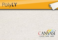 Poly LY Tempera, Canvas Paper, Base Coat, Canvas