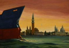 TOWARDS SAN MARCO ( Venice)