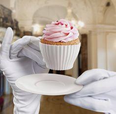 Tea cupcake holders