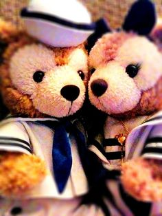 Duffy and Shellie May from Tokyo Disney Sea :)