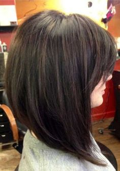 Gallery For > Medium A Line Haircuts