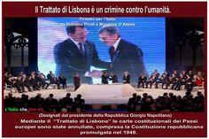 Il Trattato di Lisbona.