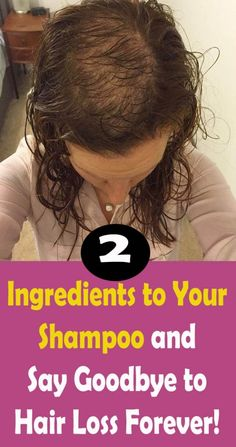 Just Add These 2 Ingredients to Your Shampoo and Say Goodbye to Hair Loss Forever! – Healthy Me Shape