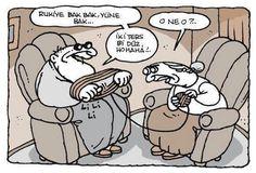 Yiğit Özgür #yiğitözgür #yigitozgur #karikatür #mizah #çizgi #komik #uykusuz #uykusuzdergi Funny Photos, Geek Stuff, Lily, Inspirational Quotes, Comics, Fictional Characters, Caps, Caricatures, Ankara