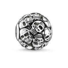 Thomas Sabo Karma Beads Skulls. $65.