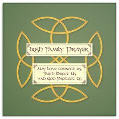 Famous Irish Quotes About Family Irish Prayer, Irish Blessing, Irish Quotes, Irish Sayings, St Patricks Day Quotes, Irish Proverbs, Prayer For Family, Bible Encouragement, Morning Prayers