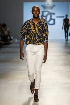 Goose Homme Prorsum SS15 collection look 3 at Mercedes Benz Cape Town Fashion Week SS15