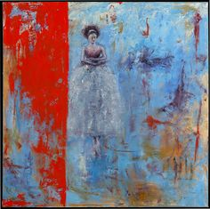 Behind the Red Curtain: Oil on Canvas, 2010. SOLD by Shanna Bruschi: Figurative & Abstract Paintings