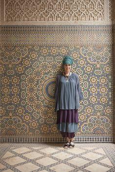 Gudrun Sjödéns Sommerkollektion 2015 - mit einem Kopftuch wird jedes Outfit ganz besonders!