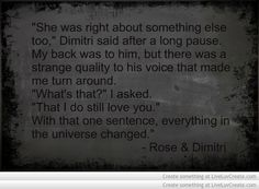 Vampire Academy Quotes Dimitri And Rose
