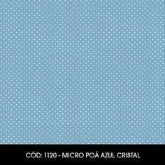 Cód. 1120 - Micro Poá Azul Cristal