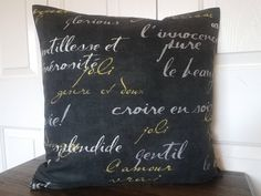 Decorative Pillow Cover-Black Pillow Covers-Throw Pillow Covers-Cushion Covers-Black Pillows-Sofa Pillows-Black Bedding-Modern Pillow Covers and many more colors to choose from at www.etsy.com/shop/wpbhomedecor