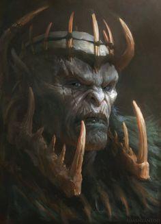 Orc King by Manzanedo.deviantart.com on @DeviantArt