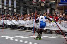 Este fin de semana, Campeonatos de España de Esquí en Línea en Villablino Competición de Inline Alpine Ski. Foto: Inline Alpine Slalom Italia