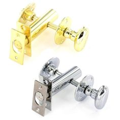 Bathroom Toilet Door Rack Bolt and Privacy Thumb Turn Security Lock Chrome Brass in Home, Furniture & DIY, DIY Materials, Doors & Door Accessories | eBay