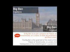 LuLo Learning Blog | Go Bilingual = Vuélvete Bilingüe = Torna-te Bilingue = Devenez Bilingue: El Big Ben en Londres = The Big Ben in London