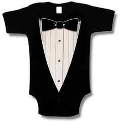 Hey, I found this really awesome Etsy listing at http://www.etsy.com/listing/176006801/black-tuxedo-baby-onesie-great-for-gags