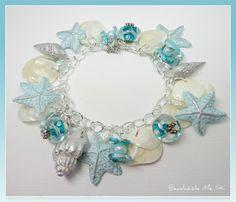 Beadazzle Me Polymer Jewelry: Polymer Clay Jewelry: Starfish & Florida Shell Bracelets