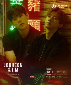 JooHeon and I.M Changkyun Monsta X JooKyun
