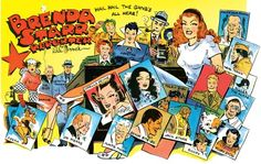Brenda Starr comic strip - being named Brenda I always loved this comic strip!!